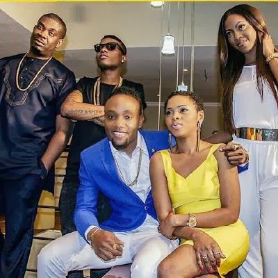 MTN Ambassadors Don Jazzy, Wizkid, KCEE, Chidinma and Tiwa Savage.
